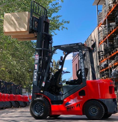 autoelevador heli isuzu 2500 kg nuevo movilift