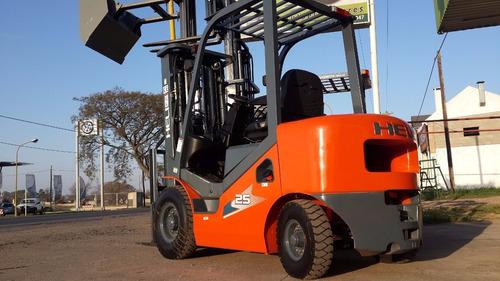 autoelevador heli new h - 1500 a 3500 kg