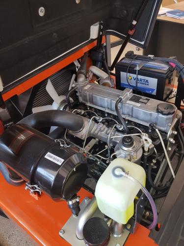 autoelevador heli/chl 2500 kg mitsubishi s4s japon doble3.5m