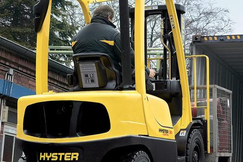 autoelevador hyster 2500kg  h50ft-br motor yanmar japones.