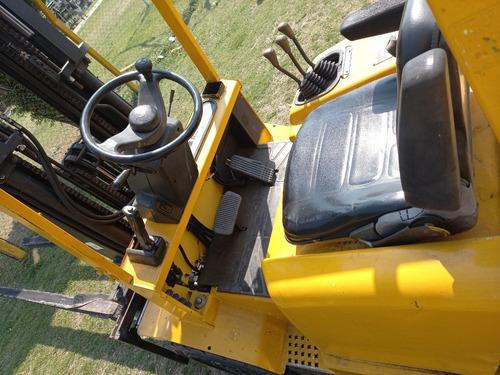 autoelevador hyster 3 ton mod 2011