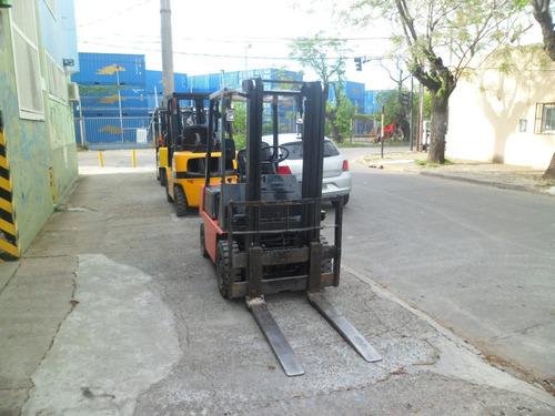autoelevador komatsu 1500 kg