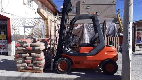 autoelevador linde 2.5 ton diesel