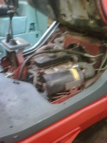 autoelevador linde 3 ton  diesel año 99 unico dueño muybueno