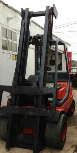 autoelevador linde 3.5ton diesel