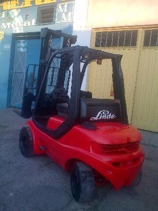autoelevador linde h 30 diesel 3 tn permuto - financio