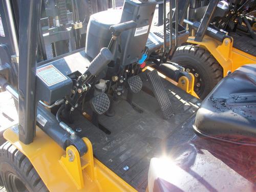 autoelevador liugong cpcd2.5 t/torre con desplazador 4.5m