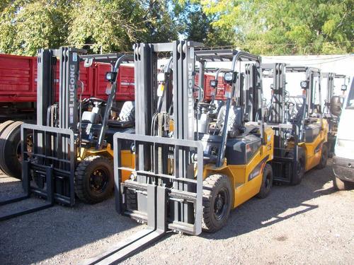 autoelevador liugong cpcd2.5 t/torre con desplazador 4.7m
