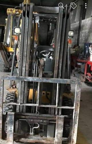 autoelevador liugong de 2.5 tn torre triple maquinasjm