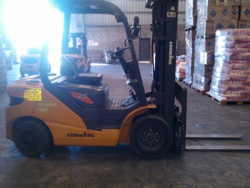 autoelevador lonking 2500kg