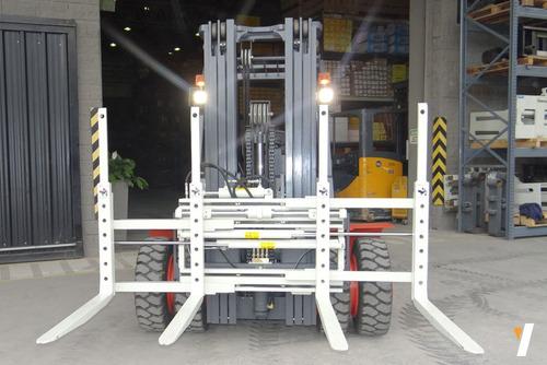 autoelevador lonking lg40dt levante 4tn triple torre 4,5m