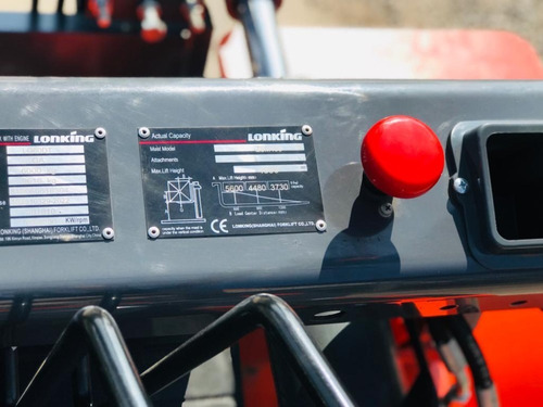 autoelevador lonking lg60 - 6 tn 4.5 mts valor por anticipo!
