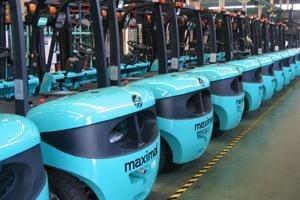 autoelevador maximal 2,5 toneladas diesel deutz