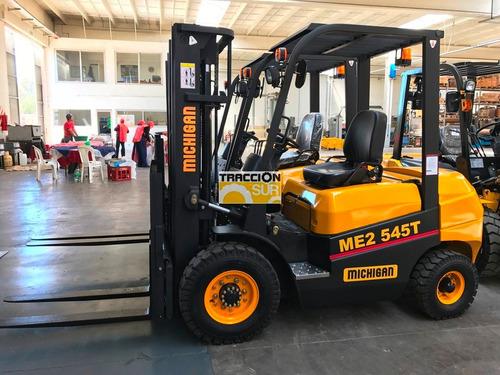 autoelevador michigan 2.5 tn altura 4.50 metros diesel nuevo