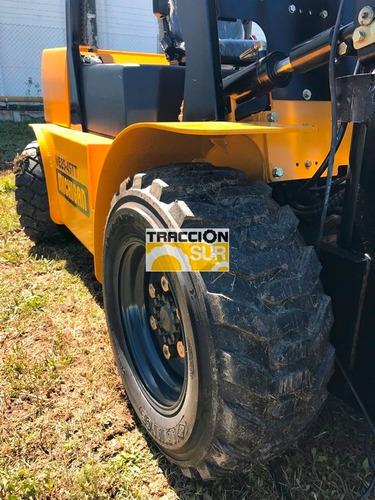 autoelevador michigan todo terreno nuevo 3 toneladas