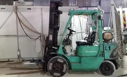autoelevador mitsubishi 2.5tn nafta/gas envios al interior