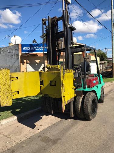 autoelevador mitsubishi 3 o 4 toneladas diesel/nafta