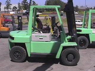 autoelevador mitsubishi 5000 kg / elevación 3,5 mts