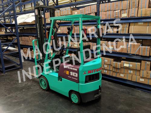 autoelevador mitsubishi nafta 1000 kg autom 3.70 mts compact