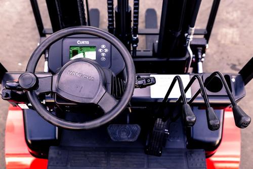 autoelevador montacarga electrico nuevo hangcha para 2000kg