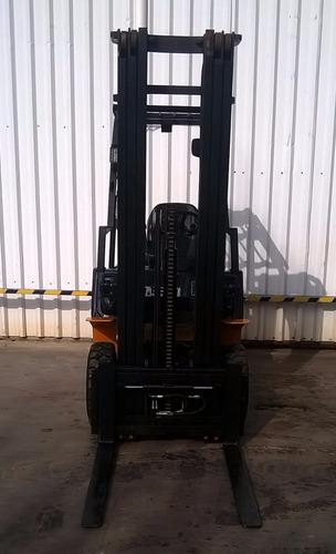 autoelevador montacarga usado marca hangcha 1800kg diesel