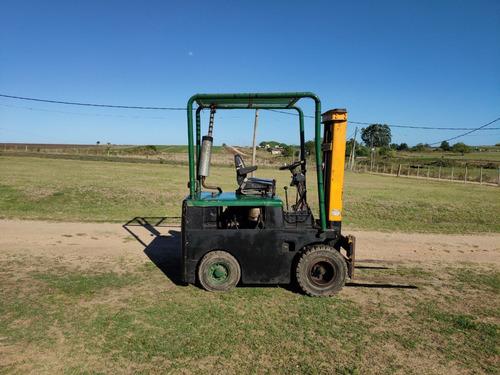 autoelevador - montacargas - elevador diesel excelente