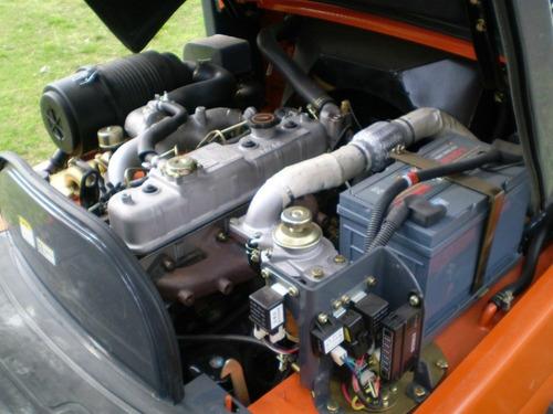 autoelevador motor isuzu - triple desp/ diesel usado 1250 hs