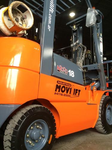 autoelevador nuevo heli 1800kg movilift