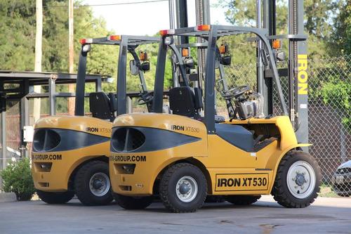 autoelevador nuevo iron 10.0 toneladas