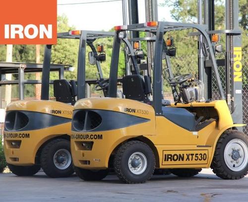 autoelevador nuevo iron 5.0 toneladas