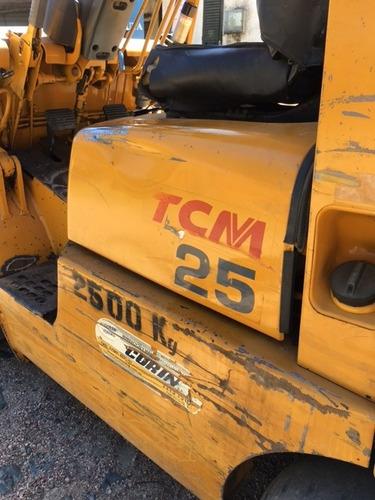 autoelevador tcm 2500 kg