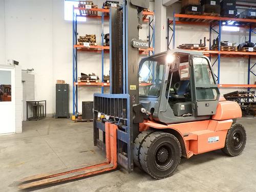 autoelevador toyota - 5fd70 - 7tn  usado - diesel