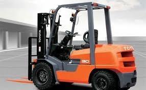 autoelevador toyota diesel fdzn20