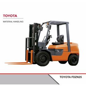 Autoelevador Toyota Diesel Fdzn25 2,5tn 0 Hs