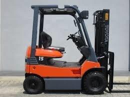 autoelevador toyota electrico   1500kg garantia japon