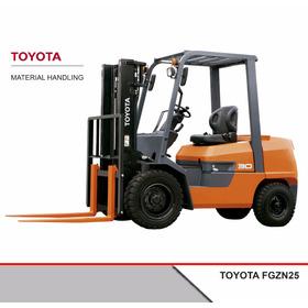 Autoelevador Toyota Nafta/gas Fgzn25 2,5tn 0 Hs
