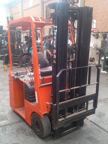 autoelevador triciclo carer ( italia) 1500 kg / elev 4,7 mts