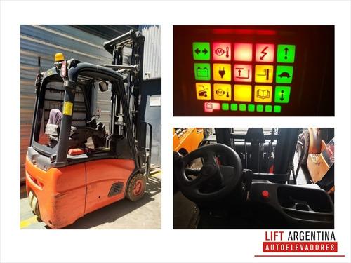 autoelevador triciclo linde 2011- batería nueva garantía
