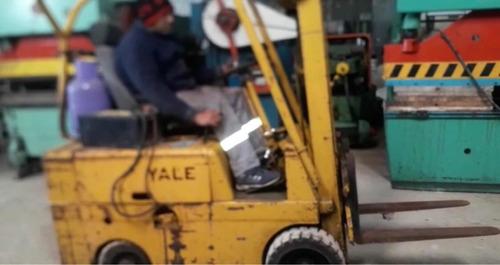 autoelevador yale 1,5tn nafta/gas funcionando envio interior
