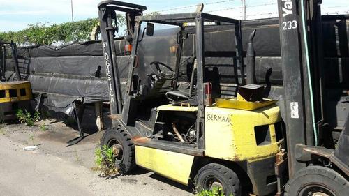 autoelevador  yale  diesel  2500kg  2004