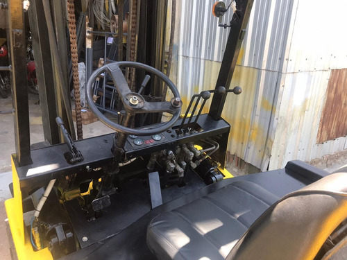 autoelevador yale diesel 4 ton 4,8 mts. desplaz (3-6-12 che)