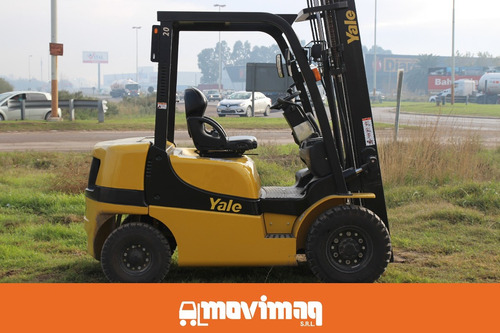 autoelevador yale gdp 20 mx