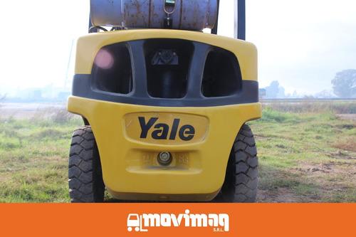 autoelevador yale s.a. glp 055 vx