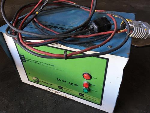autoelevador zorra yale c/bateria,cargador vea video,urgente