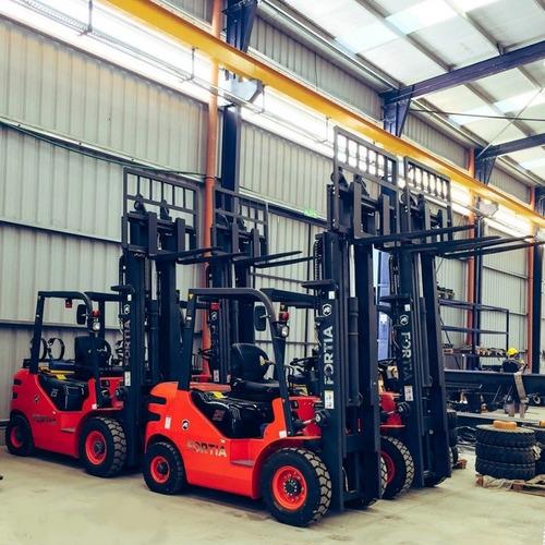 autoelevadores fortia de 2 a 7 toneladas