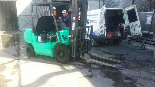 autoelevadores zorras reparacion venta service clark