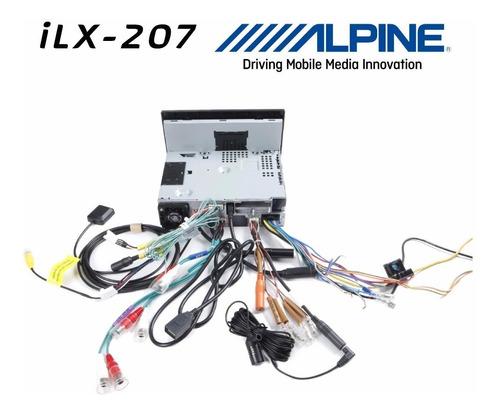 autoestereo alpine ilx-207 apple carplay android iphone