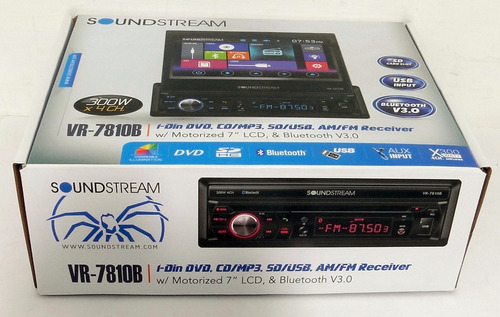 autoestereo dvd pantalla led tactil 7 bluetooth usb camara