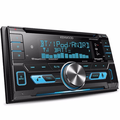 autoestéreo kenwood dpx530bt 2-din cd bluetooth iphone ipod