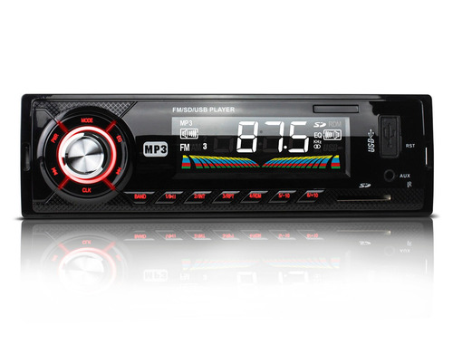 autoestereo mp3 usb sd aux radio fm digital lcd 7w control